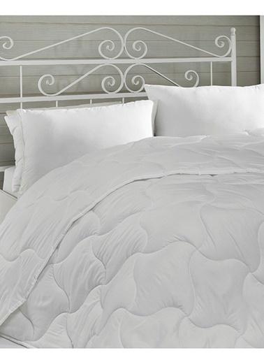 Komfort Home Tek Kişilik Microfiber Yorgan 155x215 CM Beyaz